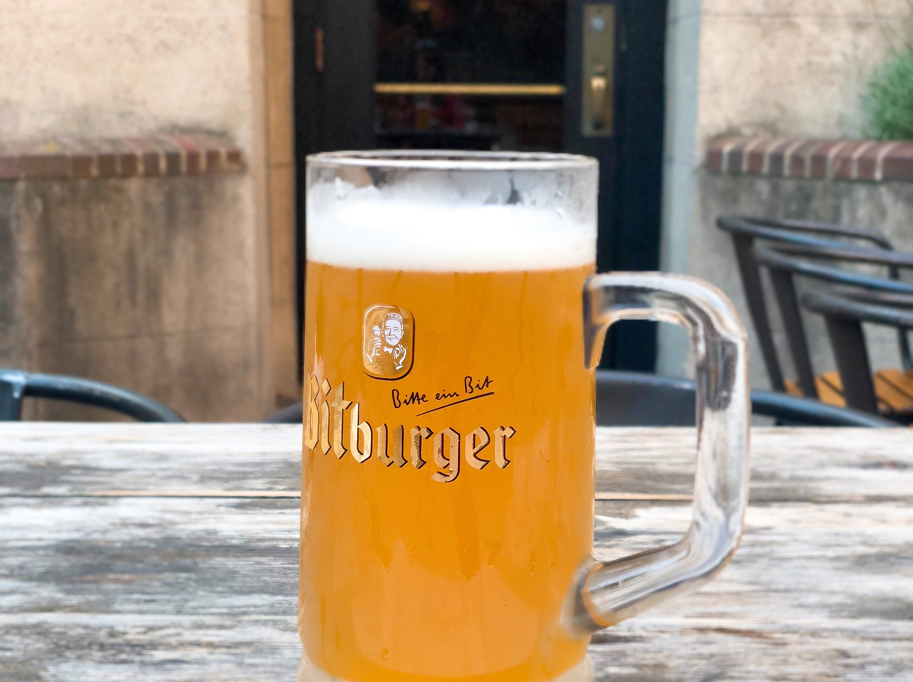 Weihenstephaner Hefeweizen is a light wheat beer with a warm spice finish.