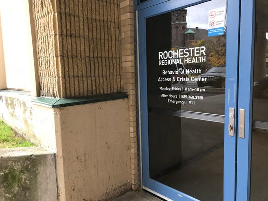 Rochester Regional's urgent care for mental health is at the back of the St. Mary's campus, with a driveway off Chili Avenue.