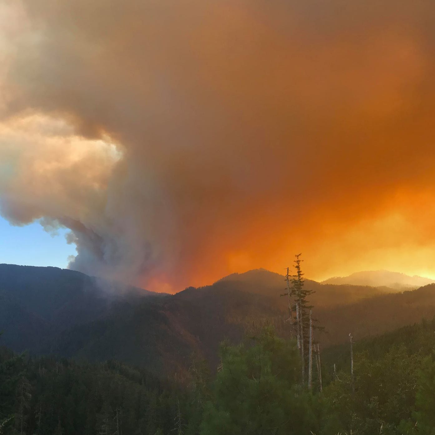 Klondike Fire roars to life, threatens homes in Southern Oregon
