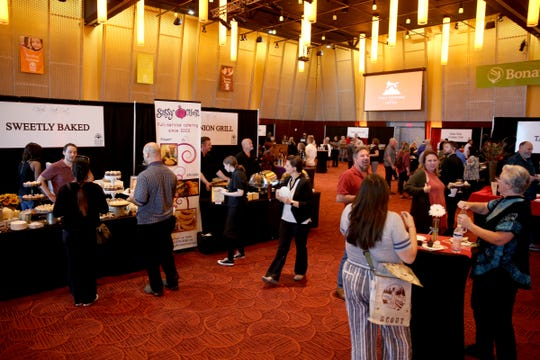 The 20th annual Chef's Nite Out, a fundraiser benefiting the Marion-Polk Food Share, at the Salem Convention Center on Sunday, Oct. 14, 2018.