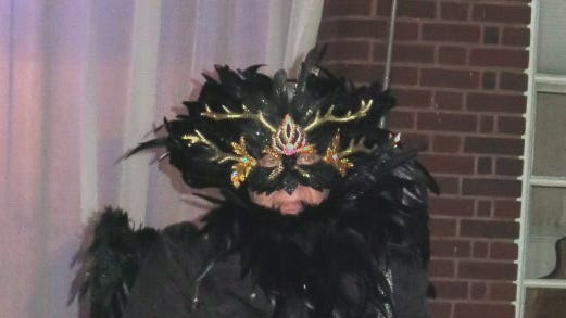 Krewe of Highland XXIV King Dennis Beckman at the Oct. 12 Coronation.