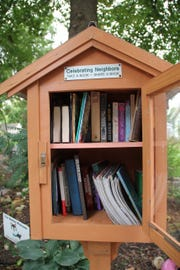 Little Free Libraries can be found all over the Ozarks.