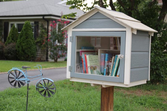 Little Free Libraries can be found all over the Ozarks. They're popping up in front of homes, charitable organizations, schools and churches. To find out more about setting up a little library, go to www.littlefreelibrary.org.