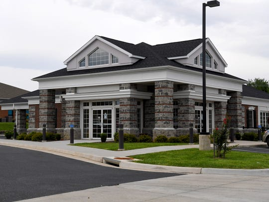F&M Bank located at Myers Corner in Fishersville.