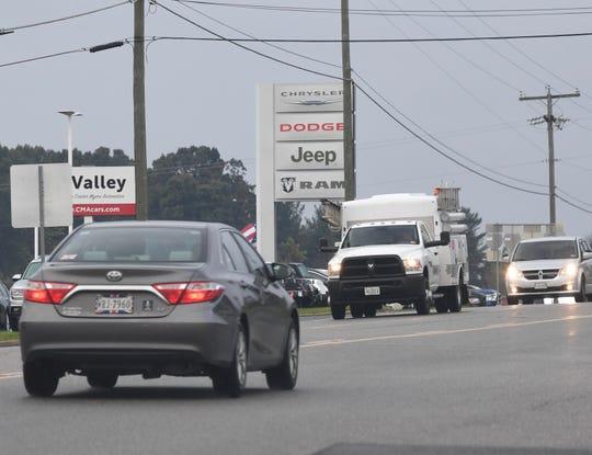 Chrysler, Dodge, Jeep and RAM dealership in Staunton.