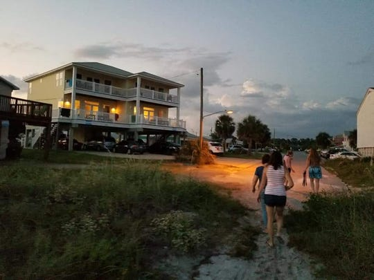 The Saint Paul's MOPS group visited the Mexico Beach home of one of our members year after year for the annual leadership retreat. It is the only one standing on this street after Hurricane Michael hit the area as a Category 4 hurricane.