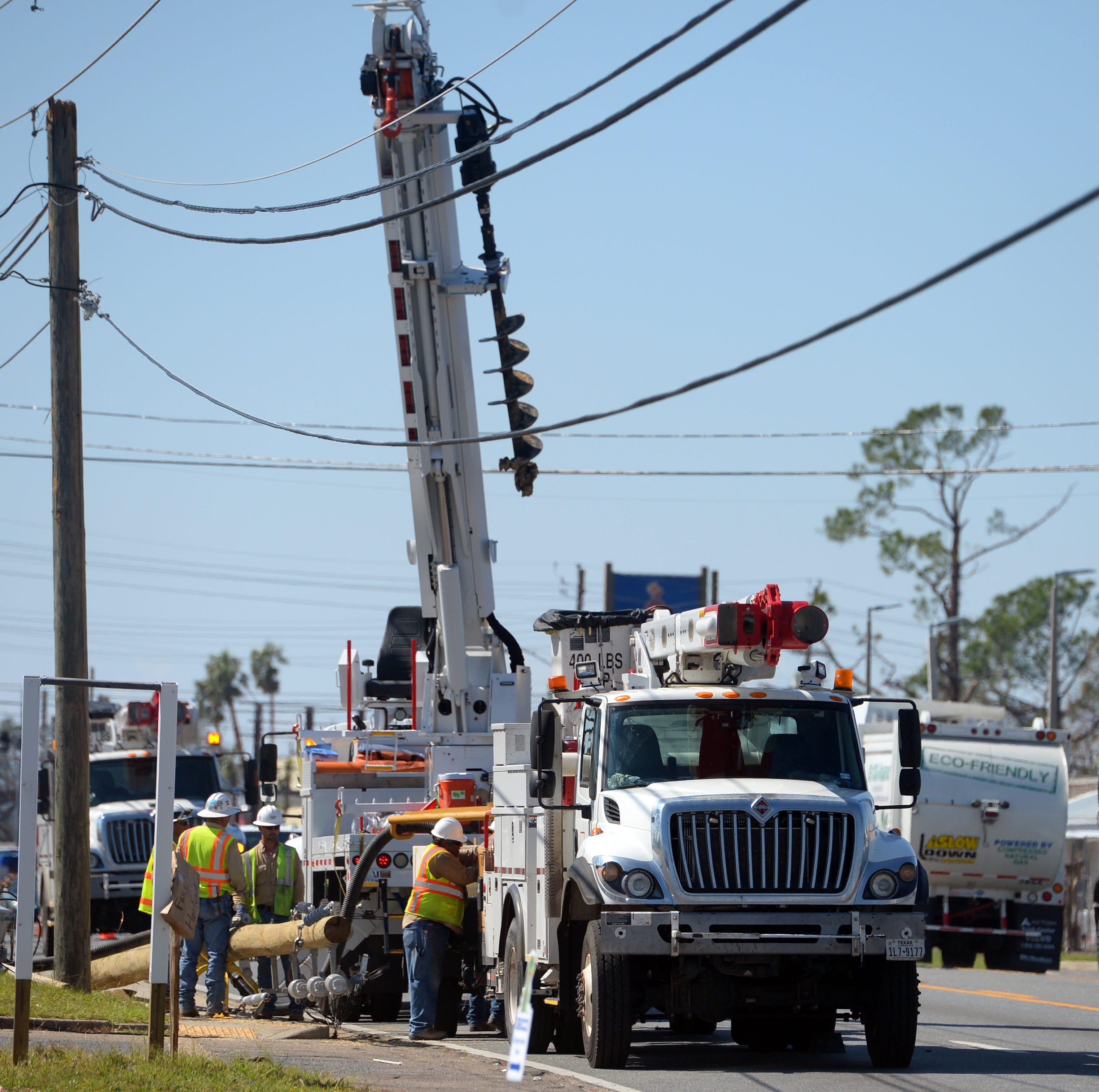 Hurricane Michael power outages being restored at rapid pace