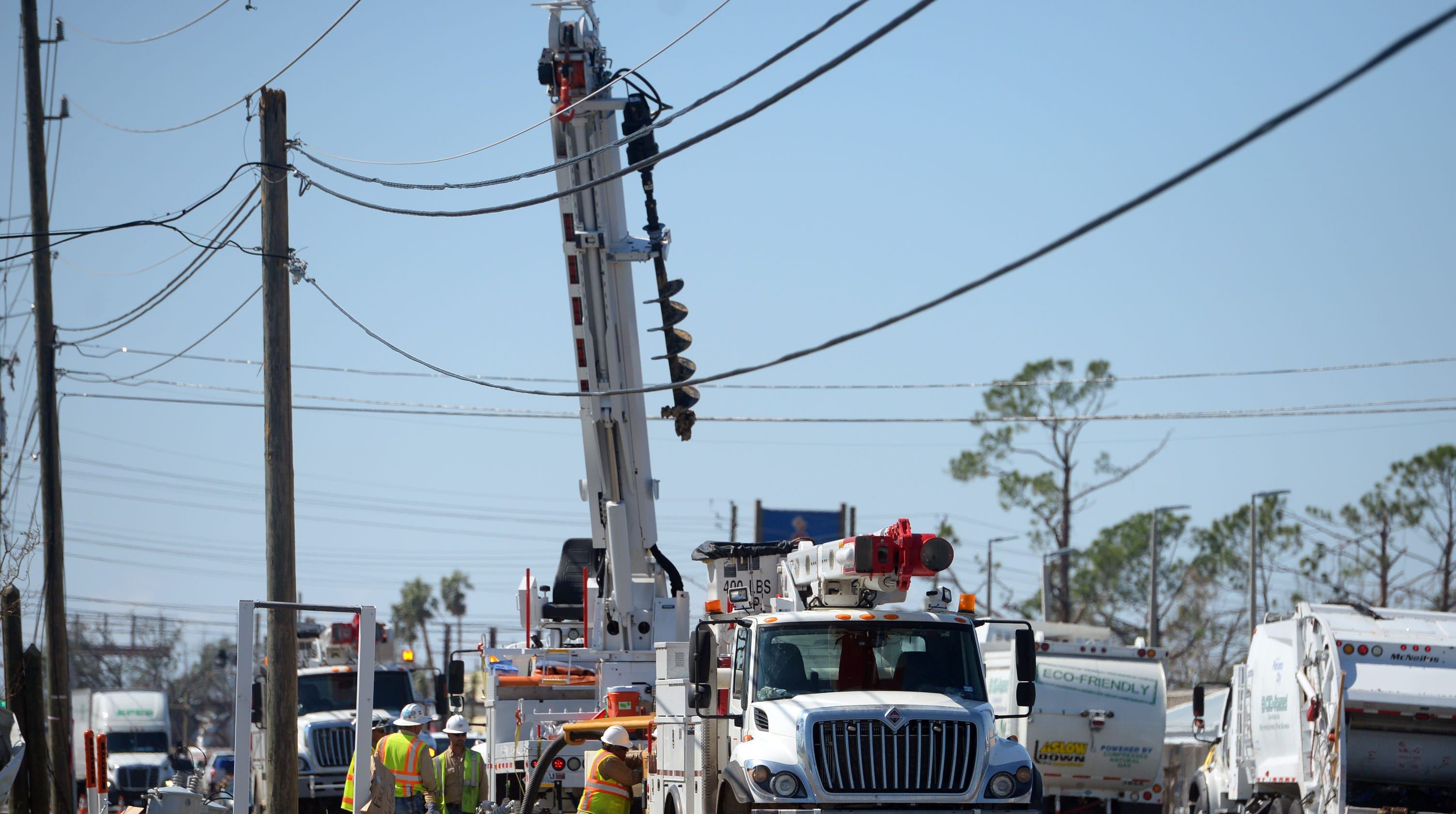 Hurricane Michael power outages in Panama City restored in