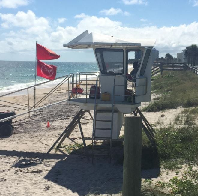 Red tide reportedly hits Indian River County, Fort Pierce Inlet for first time | Map link