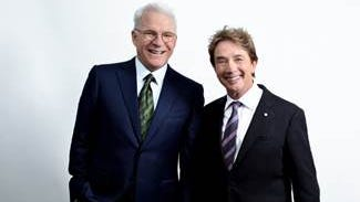 Comedians Steve Martin, Martin Short to bring show to Sioux Falls