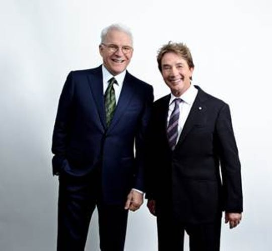 Comedians Steve Martin and Martin Show will bring their comedy tour to El Paso.