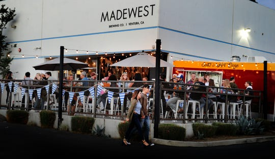 MadeWest Brewing Co. in Ventura will celebrate its third anniversary Jan. 26 with an event that includes self-guided brewery tours and food available for purchase from local food trucks. All beer service that day will require a special glass.