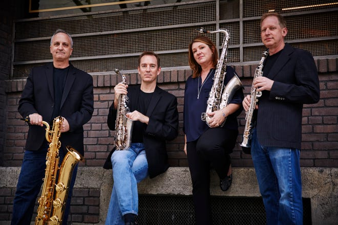 The City of Angels Saxophone Quartet will perform Oct. 20 in the Santa Paula Theater Center.