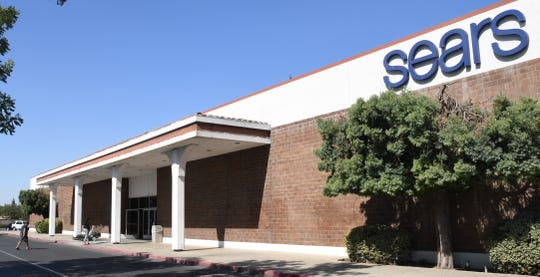Customers trickle into the Visalia Sears. The Sequoia Mall location will remain open despite more than 100 locations to close across the country.
