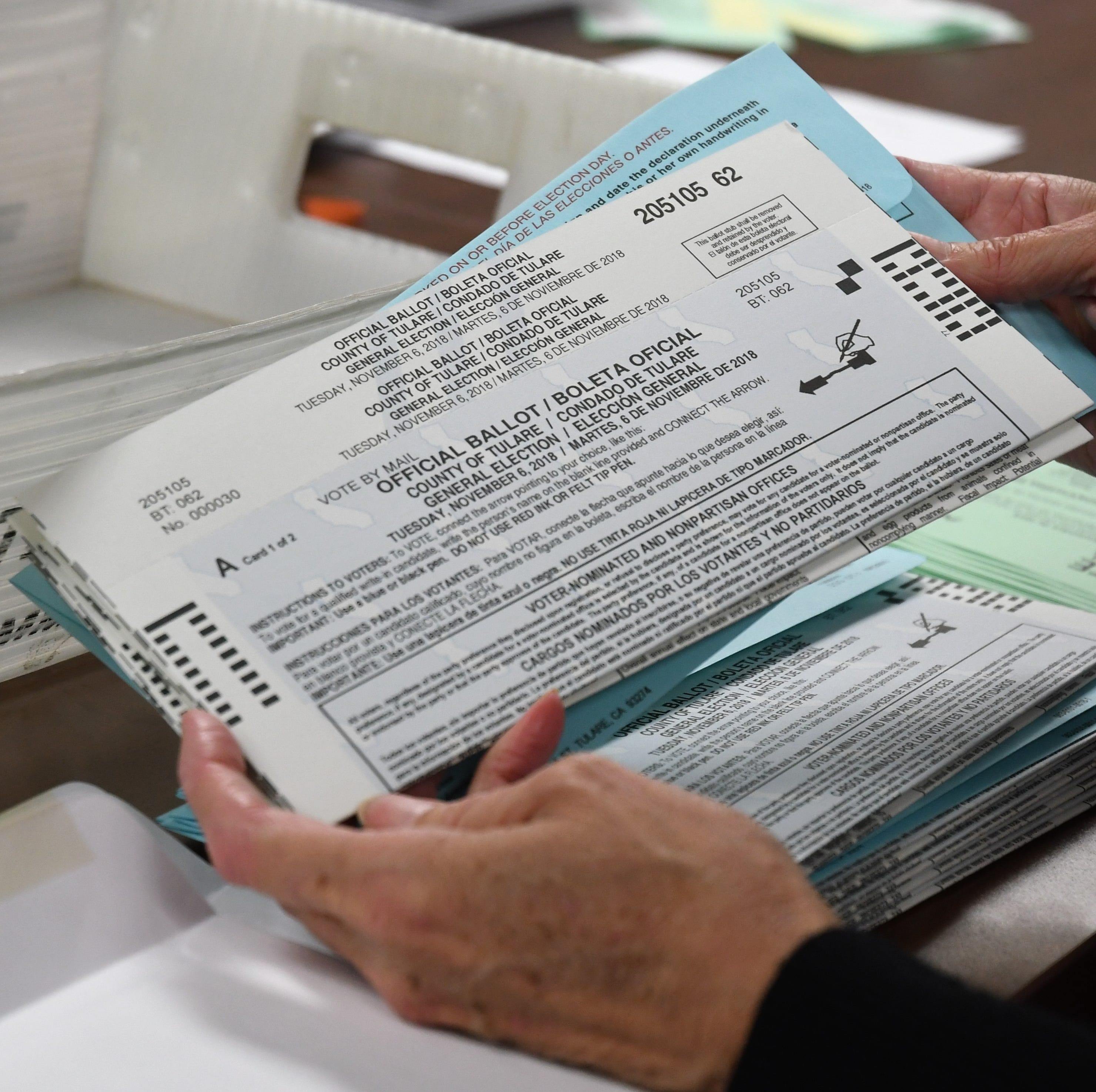 115,000 mail ballots to be issued in Tulare County this election. Have you received yours?