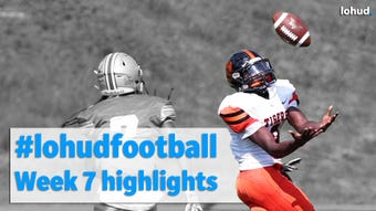 Here are 10 of the best plays from the Lower Hudson Valley area from Week 7 of the football season. Video compiled by Adrian Szkolar.