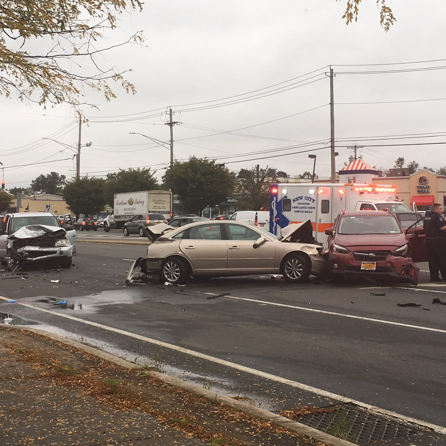 Clarkstown: Route 59 eastbound closed due to crash