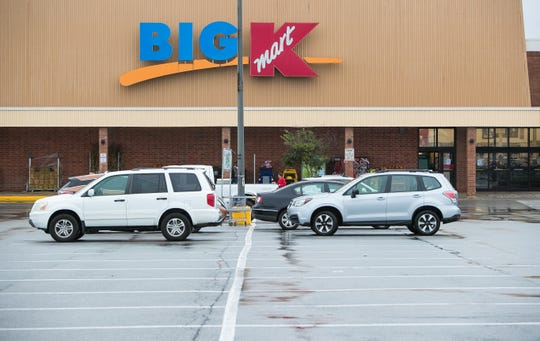 The Kmart in the Pike Creek shopping center will close at the end of 2019.