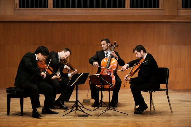 The Miro Quartet will perform at 7:30 p.m. Tuesday, Oct. 23 at the Akin Auditorium on the Midwestern State University campus. The performance is part of the Music Series at Akin.