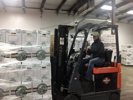 Wsf 1019 Wi Food Hub Forklift