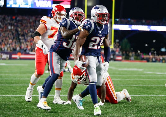 Nfl Kansas City Chiefs At New England Patriots