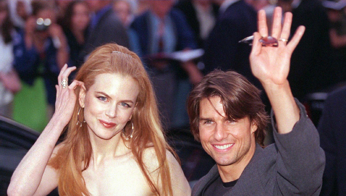 Nicole Kidman says marriage to Tom Cruise offered 'protection'