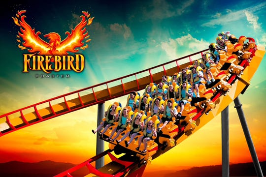 News outlets quote Six Flags America spokeswoman Denise Stokes as saying the ride came to a stop at the top of the lift hill on the Firebird ride Thursday night.