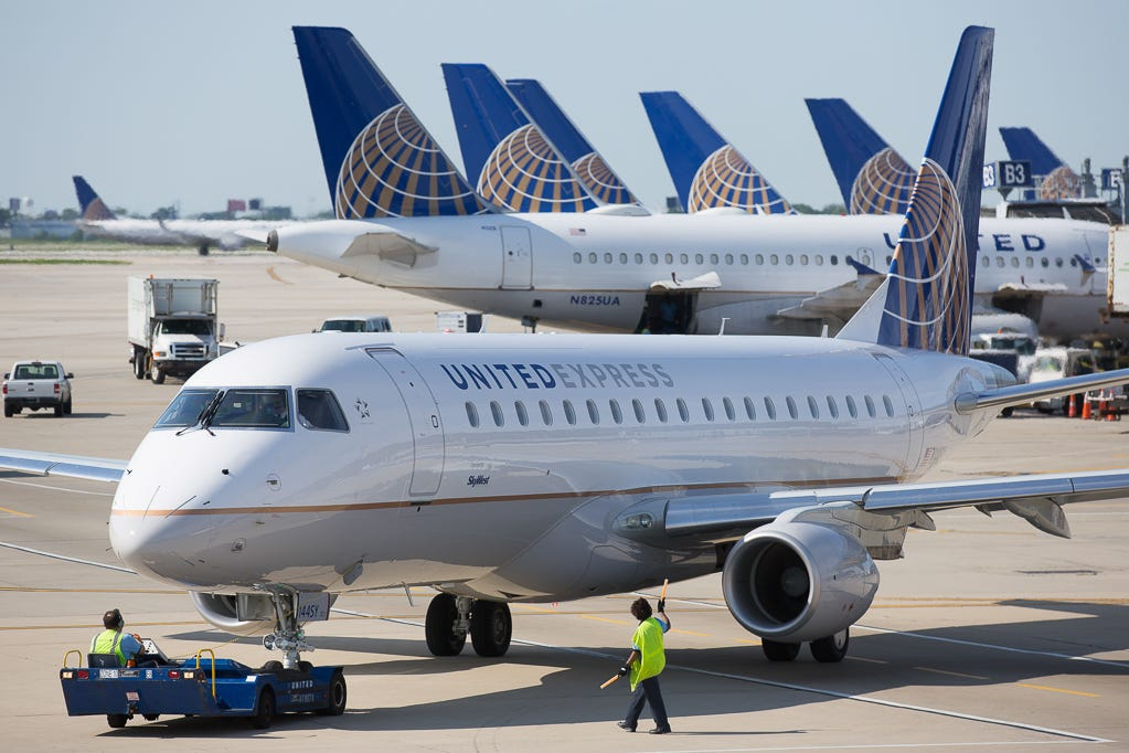 United Airlines grows at hubs; new routes from NYC, D.C. and California