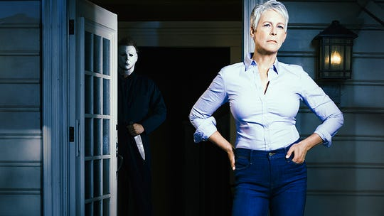 'Halloween Kills' star Jamie Lee Curtis shares first look at new 'battle for my life'