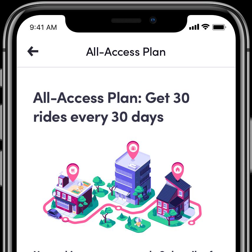 Lyft's new All-Access subscription plan
