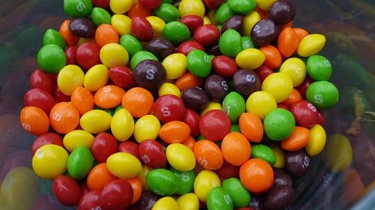 New Jersey resident prefer Skittles on Halloween night.