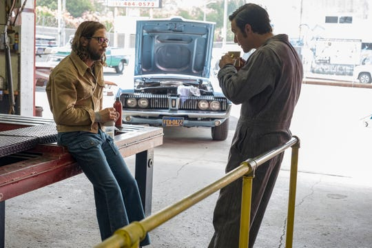 Jack Pearson (Milo Ventimiglia), right, and his brother, Nicky (Michael Angarano), are seen as young men before their Vietnam service in Tuesday's episode of 'This Is Us.'
