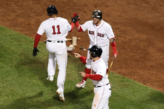 Mlb Alcs Houston Astros At Boston Red Sox
