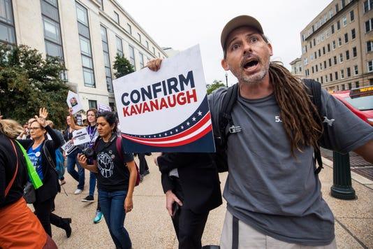 Epa Usa Senate Supreme Court Nominee Hearing Protest Pol Government Usa Dc