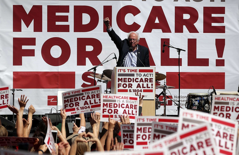 Bernie Sanders hits back at Trump's 'socialist' taunts ahead of campaign swing | Burlington Free Press