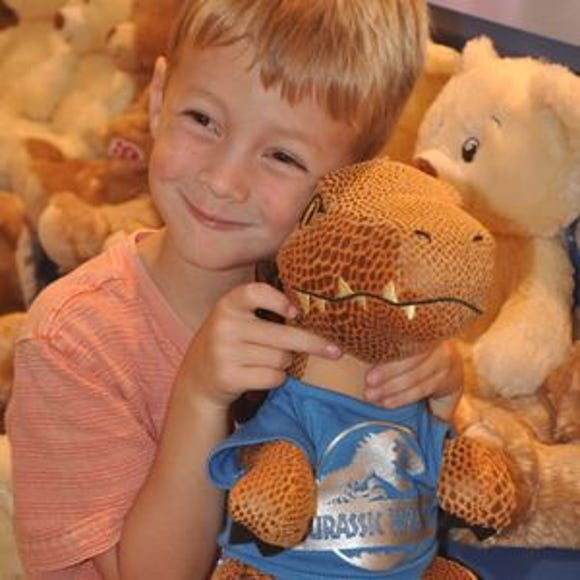 Build-A-Bear Workshop is opening at select Walmart stores.