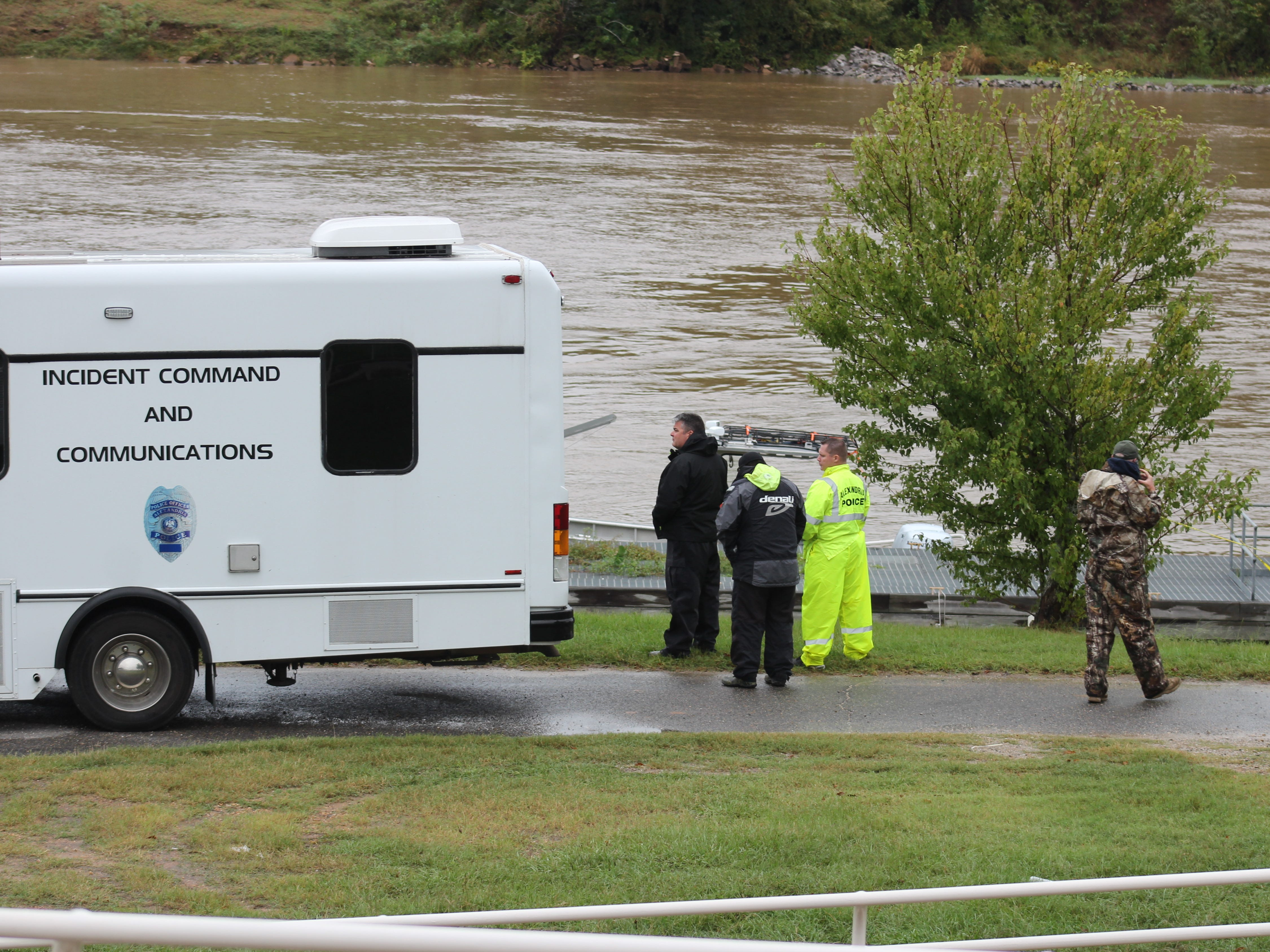 The search for a woman believed to have jumped into the Red River continued on Tuesday despite the colder temperatures and rain. A body believed to be the woman was found Tuesday afternoon. No identity has been released yet.
