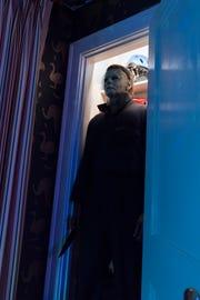 "Masked killer Michael Myers in ""Halloween."""
