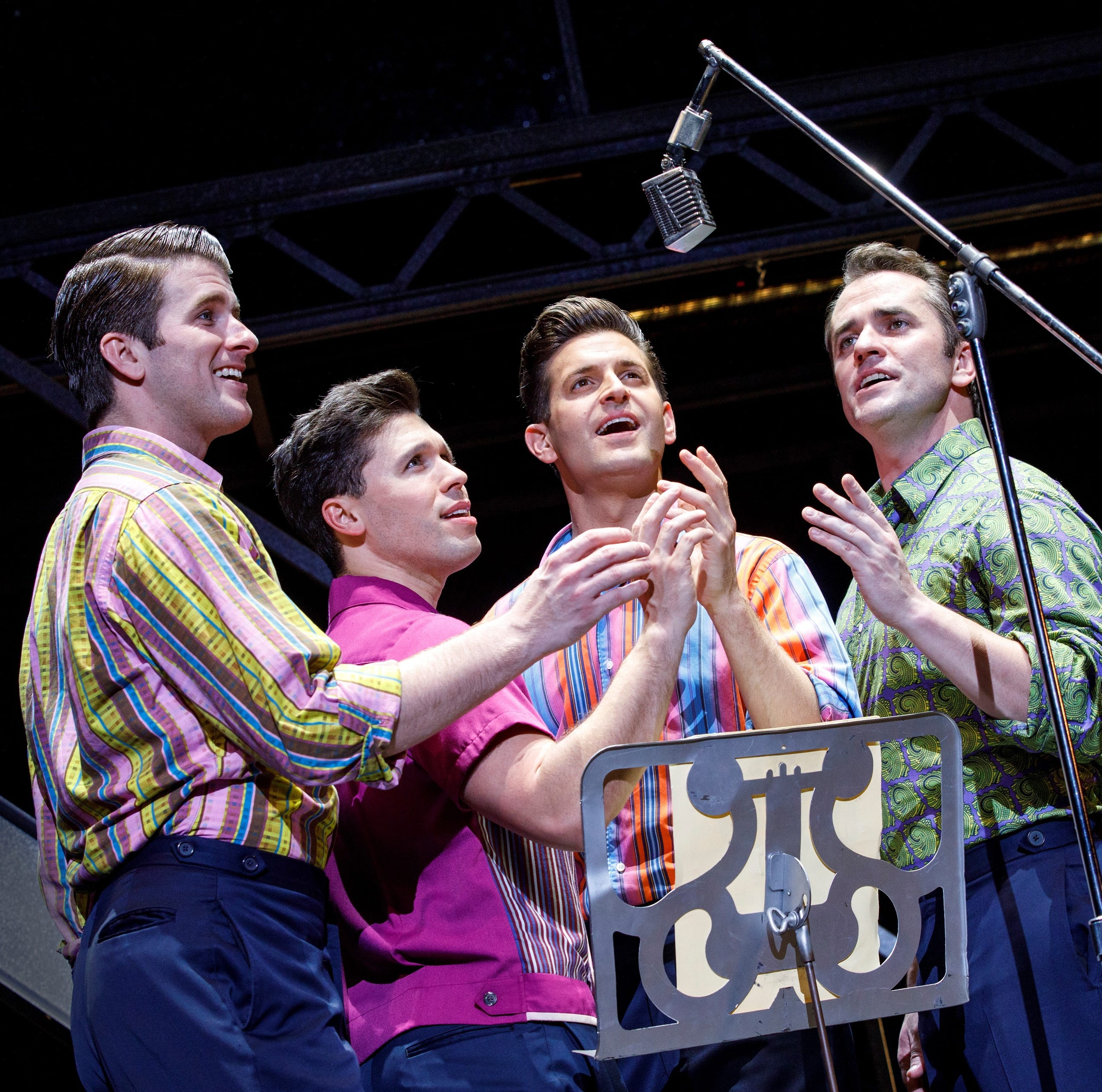 Four-ever popular: Frankie Valli and his 'Jersey Boys' are in Abilene