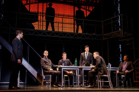 """""""Jersey Boys"""" brings the hits but also tells the story of Frankie Valli, his rise to fame with the Four Seasons and the costs that come with making it big."""