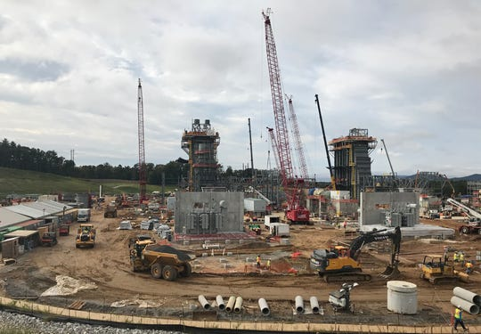 Duke Energy's new combined cycle plant in Arden is planned to open in late 2019. The project is expected to cost $893 million and will replace the company's coal-fired power plant on the property.