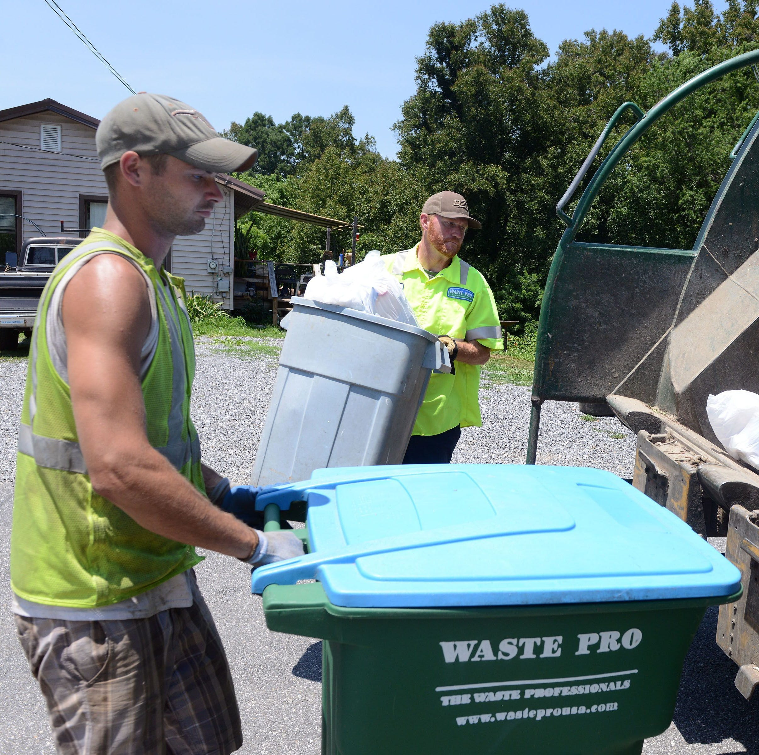 Answer Man: Waste Pro favoring wealthy neighborhoods?