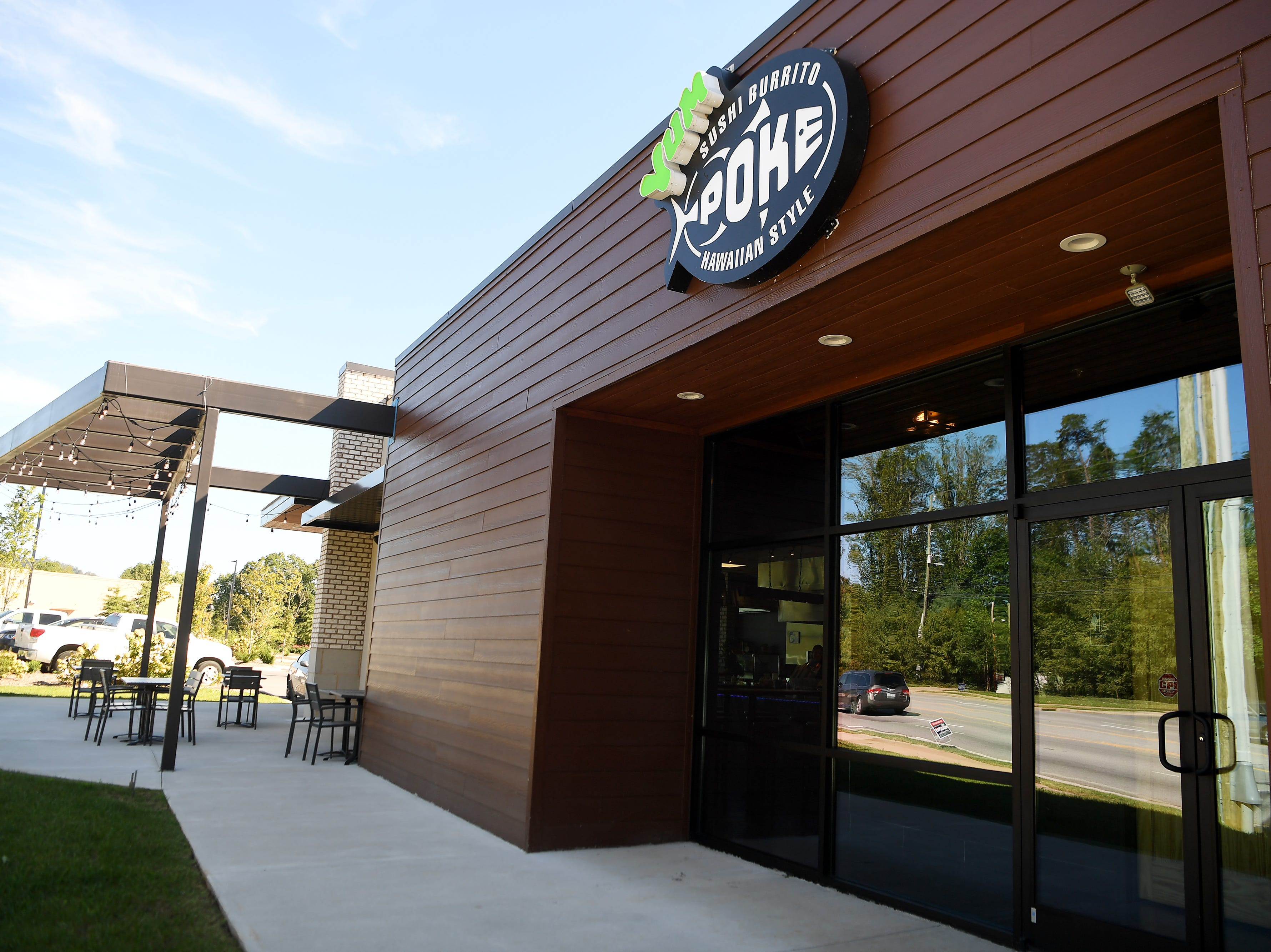 Yum Sushi and Poke off of Long Shoals Road in Arden, Oct. 12, 2018.