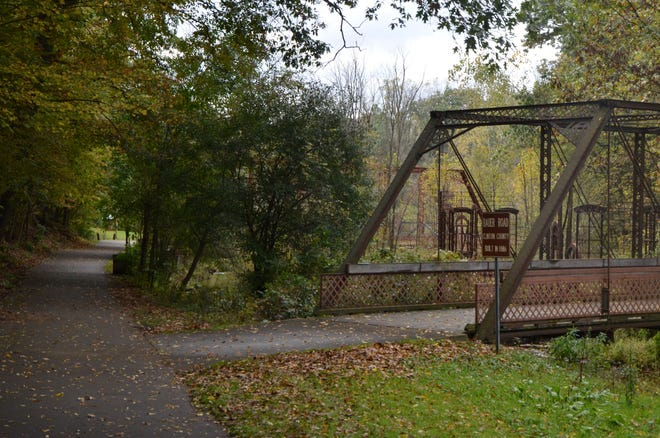 Historic Bridge Park at 14930 Wattles Road in Battle Creek is part of a network of trails, including the North Country Trail and the Iron Belle Trail.