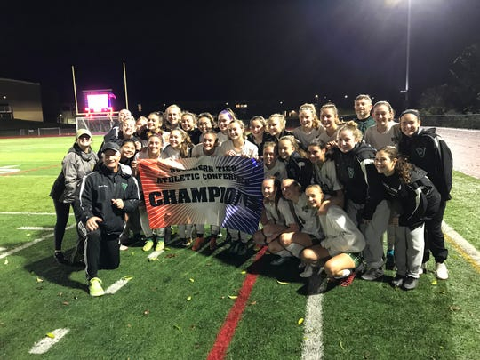 Vestal's girls earned a share of the Southern Tier Athletic Conference title after playing host Chenango Forks to a 1-1 tie Monday night.
