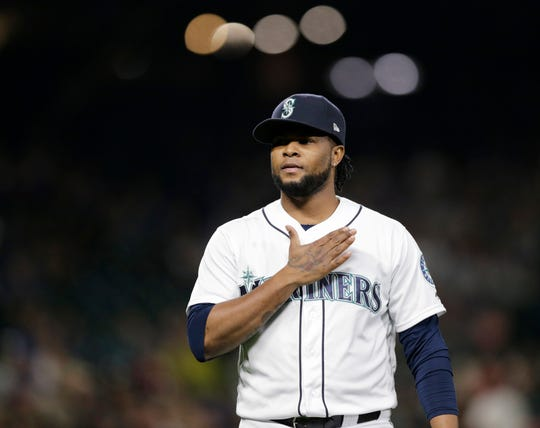 Alex Colome could be headed for a raise in arbitration. His presence may allow the Mariners to explore trading incumbent closer Edwin Diaz.