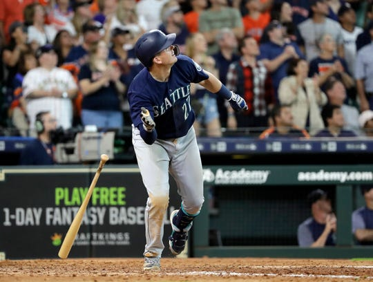 Ryon Healy is under club control and was productive in 2018, but the Mariners would like to see him become more consistent with his bat.