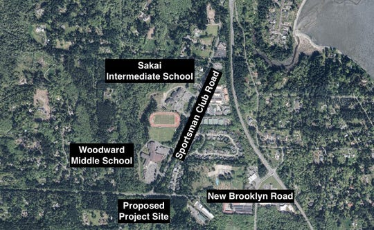 The city of Bainbridge Island is proposing a roundabout at the Sportsman Club Road-New Brooklyn Road intersection.