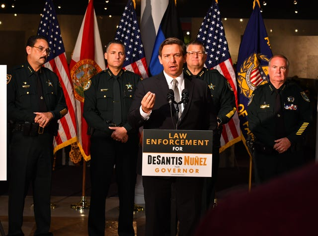 4 Florida sheriffs, including Sheriff Ivey, back Ron DeSantis