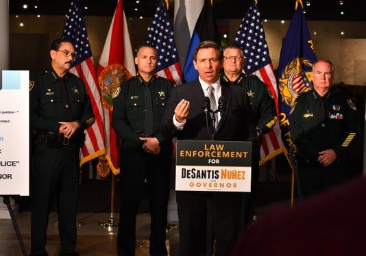 Desantis Gets Sheriffs Endorsement